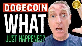 DOGECOIN OMG ! WHAT JUST  HAPPENED?  LATEST NEWS & PRICE UPDATES! #DOGE #SOL #ETH #ATOM #ADA