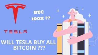 WILL BITCOIN BE 100K  DOLLAR , TESLA BUYING BITCOINS ?? ELON MUSK BOUGHT BITCOINS ?? PUMP IN 30 MINS