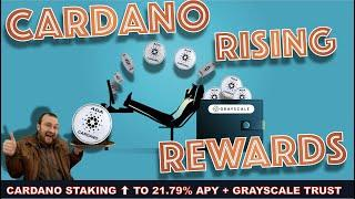 BINANCE TO OFFER CARDANO STAKING AT A MASSIVE INCREASE & GRAYSCALE PICKS UP ADA. BIG MOVE INCOMING?