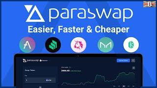 ParaSwap Tutorial: Swap Ethereum, BSC & Polygon Tokens at the Best Rates