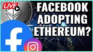 Daily Trade Set up: Ethereum Price to see rally with this Facebook news? Coffee N Crypto Live