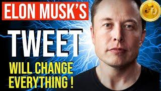ELON MUSK JUST TWEETED!! AMAZING!! THIS IS HUGE FOR DOGECOIN!!! SHOCKING NEWS!! WOW!