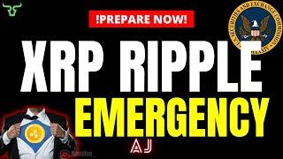 XRP RIPPLE EMERGENCY!!! Is This The Last Dip Before The Next Altcoin Surge? (Watch in 24Hrs!)