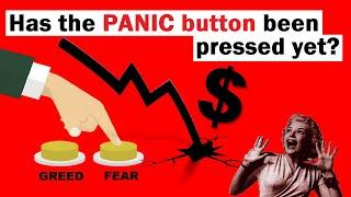 Has the PANIC Button Been Pressed Yet? (2 Charts to Watch)