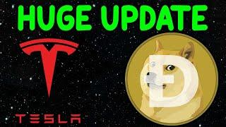 DOGECOIN HUGE UPDATE! Tesla's Wallet Moved It's Dogecoin! Dogecoin Prediction & TRUTH