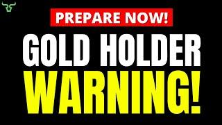 GOLD HOLDERS WARNING!!! The Gold Price Will Never Be The Same After This! | Robert Kiyosaki