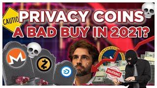 Privacy Coins DUMP while Bitcoin and Ethereum PUMP | Bad Investments?