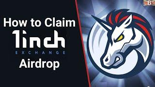 1inch Exchange Airdop: How to Claim 1INCH Tokens