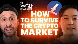 How To Survive The Crypto Market | Litecoin Creator Charlie Lee