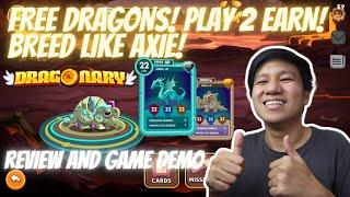 Dragonary Play To Earn Game Review And Demo | Free To Play | Upcoming IDO (Tagalog)