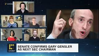 Gary Gensler Confirmed as Next SEC Chairman | The Hash - CoinDesk TV