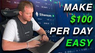 Simple Method To Make $100 A Day Trading Cryptocurrency As A Beginner   Binance Tutorial Guide
