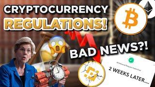 Cryptocurrency REGULATIONS and CENSORSHIP?? BAD NEWS?!