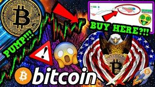 BITCOIN NEXT MASSIVE MOVE IMMINENT!!!! BUY BTC NOW or WAIT?!?! BAD NEWS for USA...
