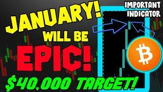 MOST EPIC BITCOIN INDICATOR IS THIS MONTH OF JANUARY!