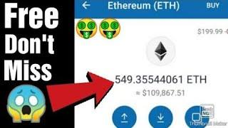 Trust wallet free Airdrop    Claim 549 Ethereum For Free    Live Claim