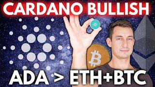 CARDANO (ADA) BETTER THAN ETHEREUM & BITCOIN? BULLISH PRICE PREDICTION, Crypto News Update