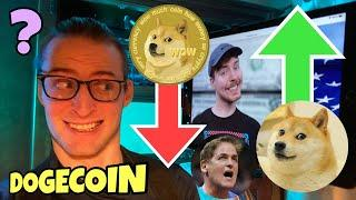 Mr Beast on Dogecoin (His True Opinion Revealed) ️ Mark Cuban Destroyed ️