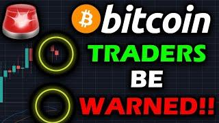 HUGE WARNING TO BITCOIN HOLDERS!!!! BITCOIN COULD TURN BEARISH BY TOMORROW IF THIS SIGNAL CONTINUES!