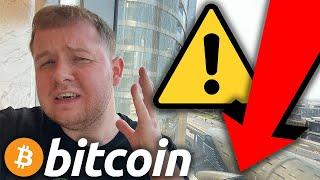 EMERGENCY!!!!!!!!!! BITCOIN IS DUMPING FAST RIGHT NOW TO THIS EXACT PRICE!!!!!!!!!!!!!!!