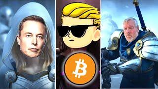 Bitcoin Rebellion: Michael Saylor, Elon Musk and r/WallStreetBets Save the World