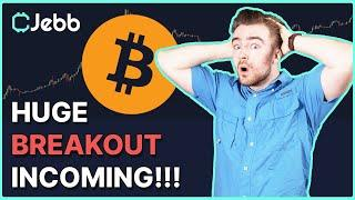 HUGE BITCOIN BREAKOUT COMING TODAY - THIS PATTERN SAYS YES!!!!