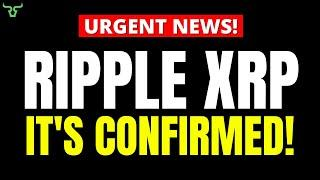 Ripple XRP IT'S CONFIRMED!!! Prepare For The Transition!