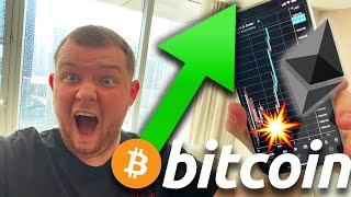 MASSIVE BULLISH BITCOIN SIGNAL FLASHED TODAY!!!! ETHEREUM TO $2000 THIS WEEK!!!!!!!!!!