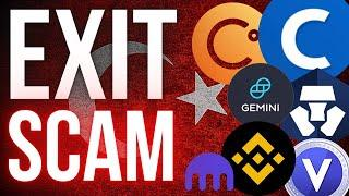 3 Tips To Avoid Crypto Exchange Exit Scams