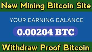 Earn 0.00204 BTC | New Bitcoin Mining Site 2021 | Free Bitcoin Mining Site Without Investment 2021