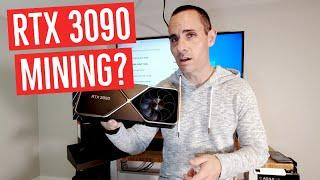 How Much Can You Earn Mining Ethereum With An RTX 3090?