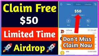 Get Free 50$ Instant | New Crypto Airdrop 2021 | Smoke Token Airdrop Claim Free 100SMT=50$ Instant