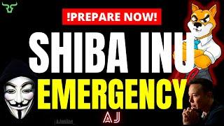 SHIBA INU EMERGENCY!!! You Need To Know This! (Watch in 24hrs)