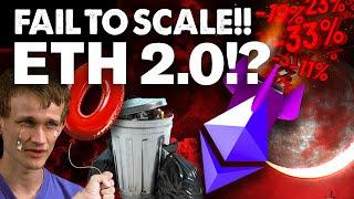 """Ethereum to """"ZERO"""" If It Can't SCALE!? Maybe! Here's Why!!"""