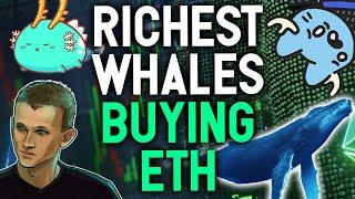 RICHEST WHALES ARE BUYING ETHEREUM! I started buying too! My strategy explained.