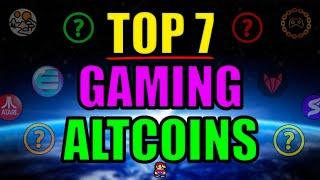 Top 7 GAMING Altcoins Set to Explode in 2021 | Best Cryptocurrency Investments April 2021