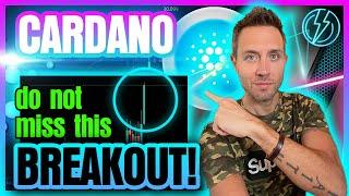 CARDANO PRICE BREAKOUT! (Have You Seen This ADA Target?!)