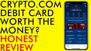 CRYPTO.COM BITCOIN DEBIT CARD IS IT WORTH THE MONEY? HONEST REVIEW 2020