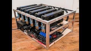 How To Build A Crypto Mining Rig In 2021 -  6 GPU Crypto Mining Rig Build Guide