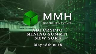 Phoneum At The ADI Crypto Mining Summit In New York May 2018
