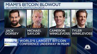 Elon Musk looms as divisive figure at world's largest bitcoin conference