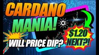 IS CARDANO GOING TO KEEP GOING UP?! NEW $1.20 ADA PRICE TARGET!