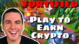 NEW Free to Play NFT Tower Defense Game FORTIFIED! (Upcoming Play to Earn Crypto Game by Gala Games)