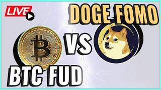 Cardano price approaching $2! + The Dogecoin FOMO and Bitcoin FUD conundrum! Coffee N Crypto Live