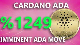 NEW PROJECT PUMP? CARDANO ADA CRYPTO COIN PRICE PREDICTION NEWS TODAY LIVE TECHNICAL ANALYSIS