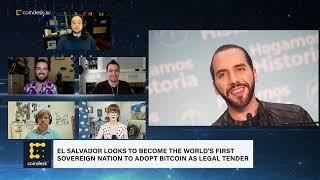 President of El Salvador Says He's Submitting Bill to Make Bitcoin Legal Tender | The Hash