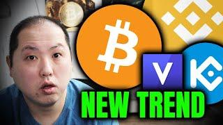BITCOIN CONTINUES HIGHER!!! NEW TREND WITH EXCHANGE TOKENS!!!