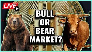 Is Bitcoin in a Bull Market, or is the latest Crash evidence of a Bear Market?! Coffee N Crypto LIVE