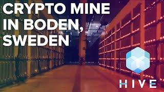 Inside A Crypto Mine In Boden, Sweden