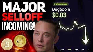 40% DROP INCOMING FOR DOGECOIN AND CRYPTOS! MAJOR MOVE COMING! (DOGECOIN PRICE ANALYSIS)